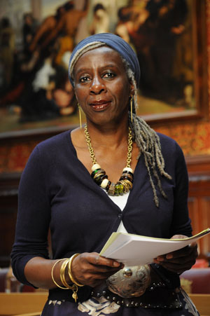 Baroness Young aims to show politicians that sustainable fashion needs to be taken seriously. Photo via Lords of the Blog.